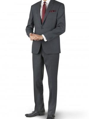 Abito business Tuscany grigio chiaro tinta unita vestibilit_ regolare