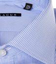 Camicia sartoriale Xacus tessuto mille righe collo mezzo francese vestibilitš normale