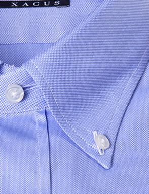 Camicia sartoriale Xacus botton down oxford vestibilitš normale