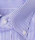 Camicia sartoriale Xacus botton down riga sottile vestibilitš normale