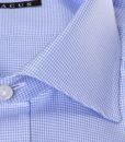 Camicia sartoriale Xacus micro disegno collo mezzo francese vestibilitš normale