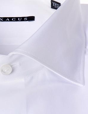 Camicia sartoriale Xacus slim tessuto liscio collo mezzo francesce