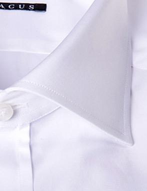 Camicia sartoriale Xacus tessuto liscio collo mezzo francese vestibilitš normale