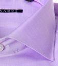 Camicia sartoriale Xacus slim tessuto oxford collo mezzo francesce