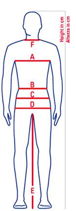 misura abito sartoriale