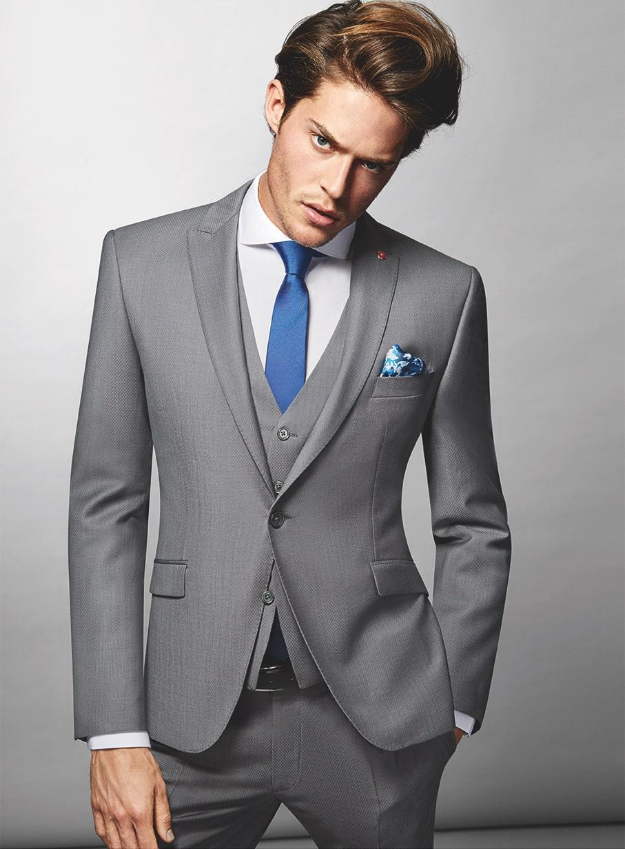 Abito Matrimonio Uomo Grigio : Abito cerimonia uomo grigio u abiti in pizzo